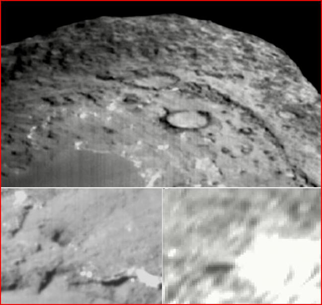 Deep Impact Krater